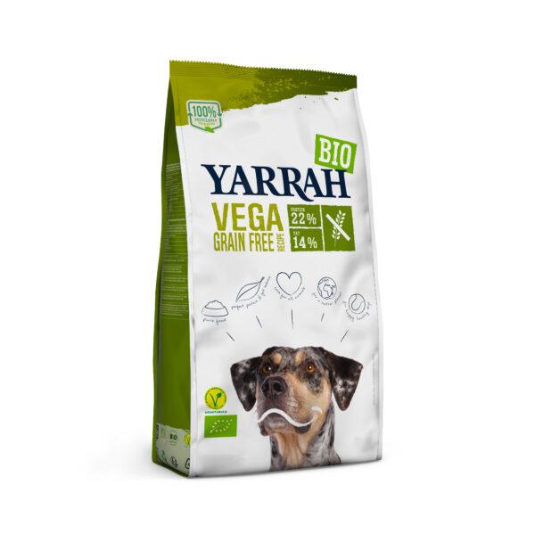 Yarrah Organic Petfood B.V. Bio Hund Trockenfutter Erwachsene getreidefrei Vegetarisch 10kg