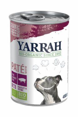 Yarrah Organic Petfood B.V. Bio Hund Dose Pastete getreidefrei Schwein Einzelprotein 12x400g