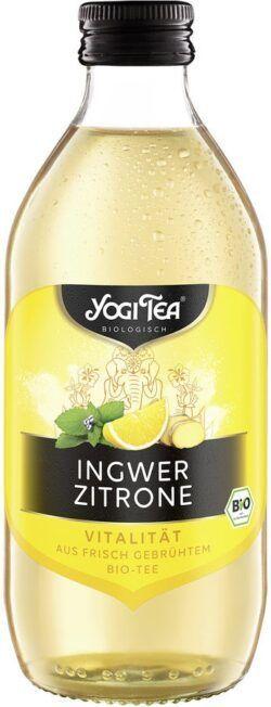 YOGI TEA ® Ingwer Zitrone Teekaltgetränk Bio 20x330ml
