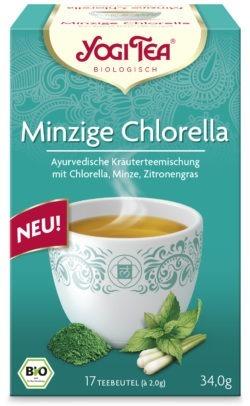 YOGI TEA ® Minzige Chlorella Bio 6x34g