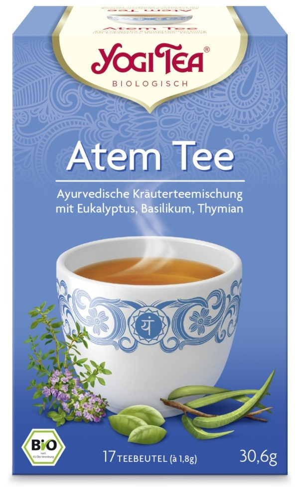YOGI TEA ® Atemtee Bio 6x30,6g