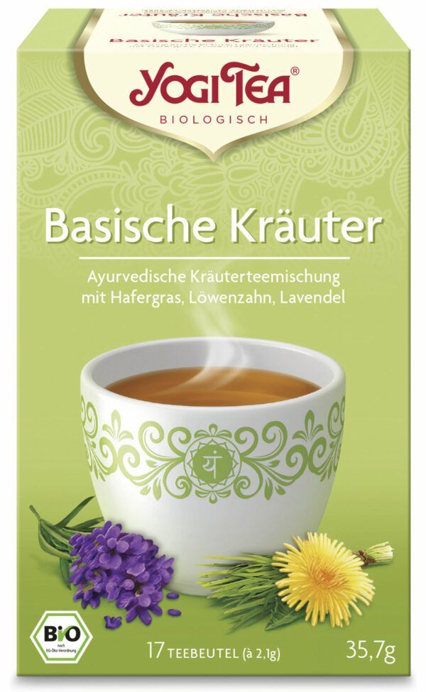 YOGI TEA ® Basische Kräuter Bio 35,7g