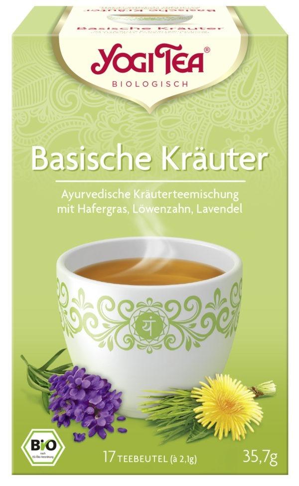 YOGI TEA ® Basische Kräuter Bio 6x35,7g