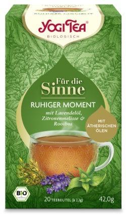 YOGI TEA ® Für die Sinne Ruhiger Moment Bio 6x42g