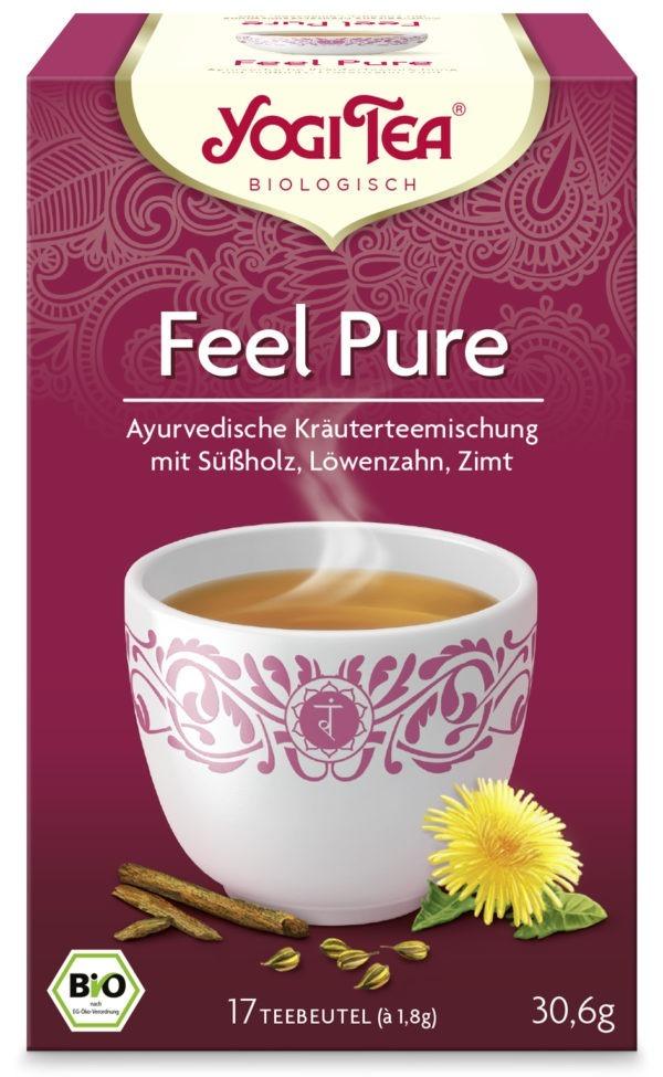 YOGI TEA ® Feel Pure Bio 6x30,6g