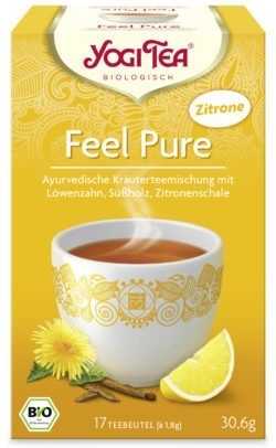 YOGI TEA ® Feel Pure Zitrone Bio 6 x 30,6g