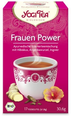 YOGI TEA ® Frauenpower Bio 6 x 30,6g