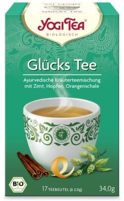 YOGI TEA ® Glückstee Bio 6x34g