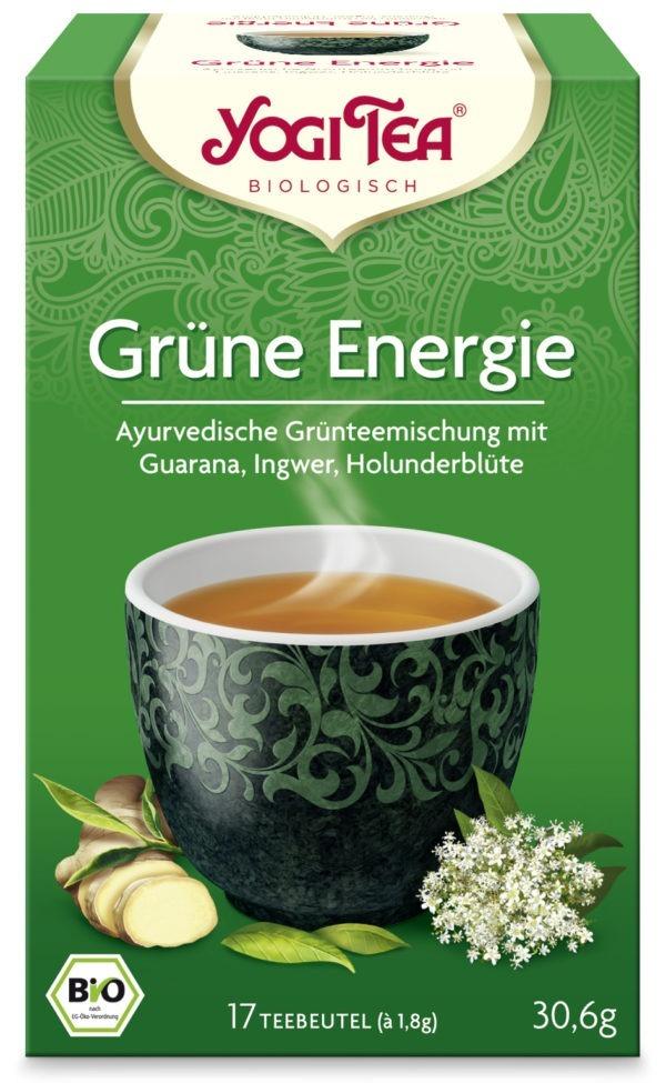 YOGI TEA ® Grüne Energie Bio 6x30,6g