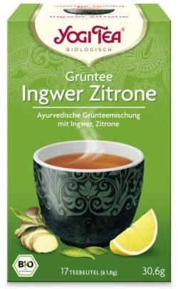 YOGI TEA ® Grüntee Ingwer Zitrone Bio 6x30,6g