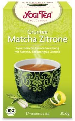 YOGI TEA ® Grüntee Matcha Zitrone Bio 6x30,6g
