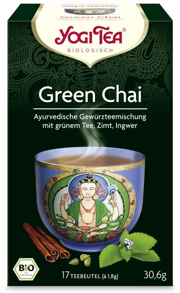 YOGI TEA ® Green Chai Bio 6x30,6g