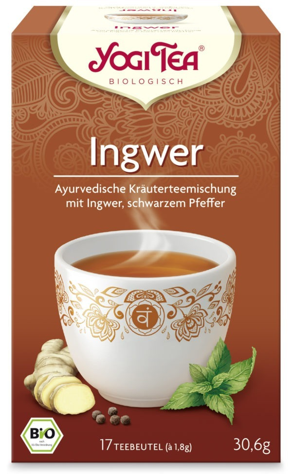 YOGI TEA ® Ingwer Bio 6x30,6g