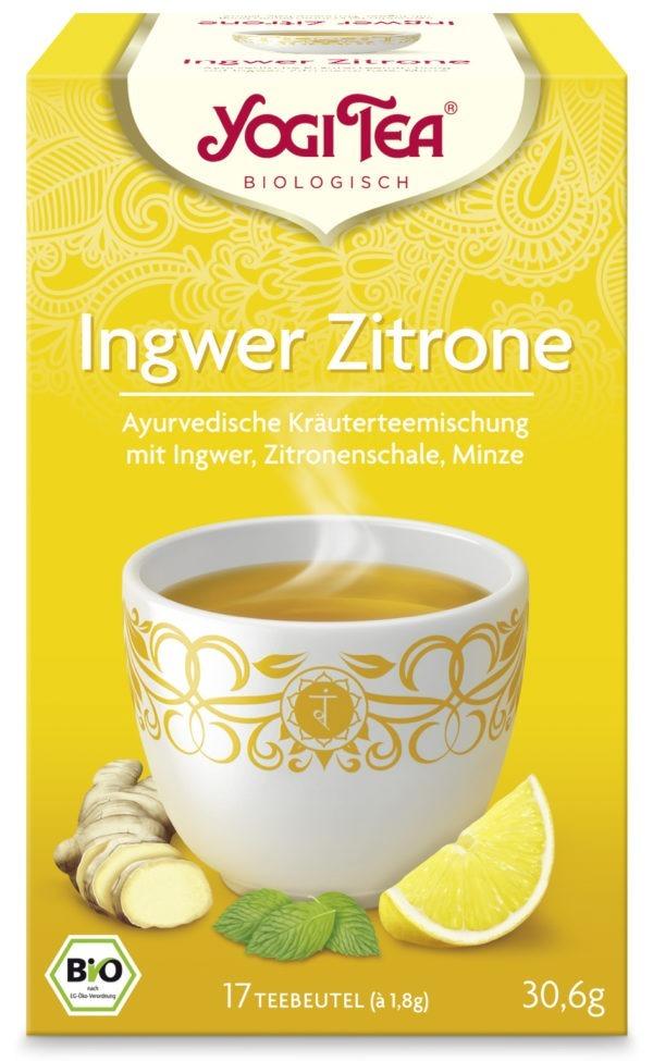 YOGI TEA ® Ingwer Zitrone Bio 6x30,6g