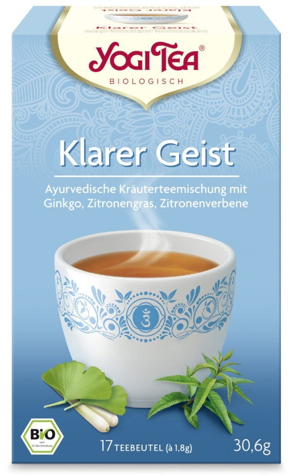 YOGI TEA ® Klarer Geist Bio 6x30,6g