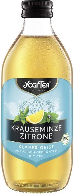 YOGI TEA ® Krauseminze Zitrone Teekaltgetränk Bio 20x330ml