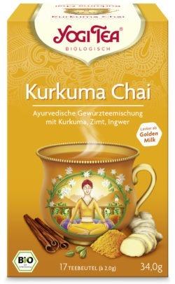 YOGI TEA ® Kurkuma Chai Bio 6x34g