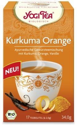 YOGI TEA ® Kurkuma Orange Bio 6x34g