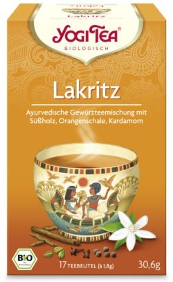 YOGI TEA ® Lakritz Bio 6x30,6g