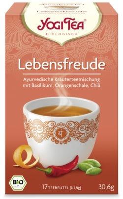 YOGI TEA ® Lebensfreude Bio 6x30,6g