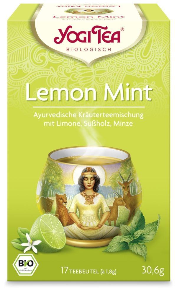 YOGI TEA ® Lemon Mint Bio 6x30,6g