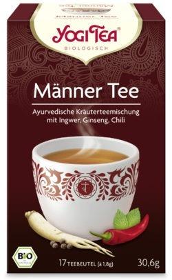 YOGI TEA ® Männer Tee Bio 6x30,6g