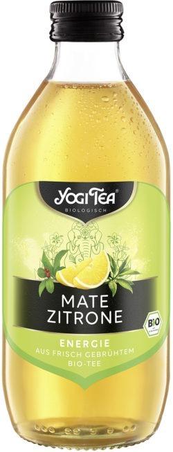 YOGI TEA ® Mate Zitrone Teekaltgetränk Bio 20x330ml