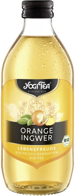 YOGI TEA ® Orange Ingwer Teekaltgetränk Bio 20x330ml
