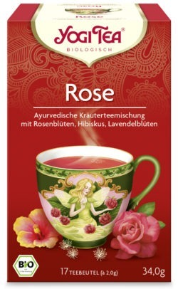 YOGI TEA ® Rose Bio 6x34g