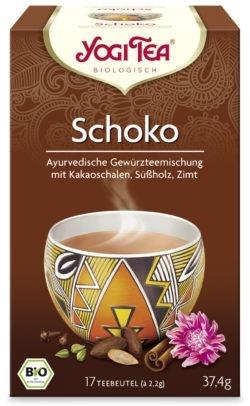 YOGI TEA ® Schoko Bio 6x37,4g