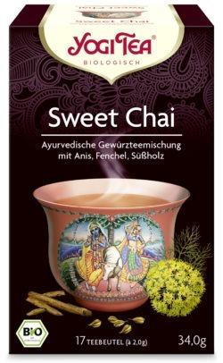 YOGI TEA ® Sweet Chai Bio 6x34g