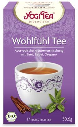 YOGI TEA ® Wohlfühltee Bio 6x30,6g