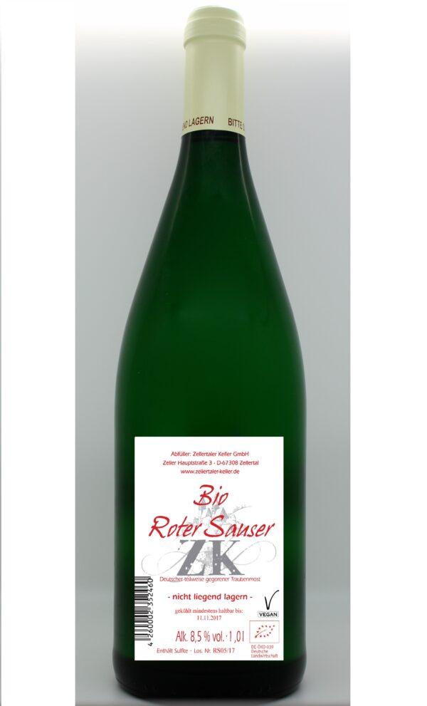 Zellertaler Keller Roter Sauser, ZK 6x1l