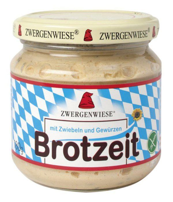 Zwergenwiese Brotzeit Streich mit Zwiebeln und Gewürzen nach Obazda-Art 6x180g