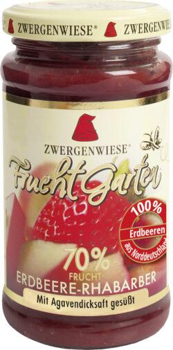 Zwergenwiese FruchtGarten Erdbeere-Rhabarber 225g