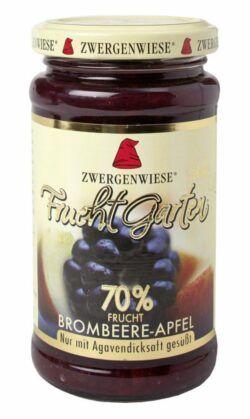 Zwergenwiese FruchtGarten Brombeere-Apfel 6x225g