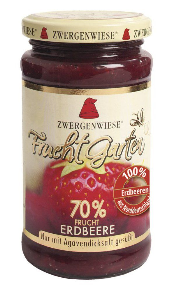 Zwergenwiese FruchtGarten Erdbeere 6x225g