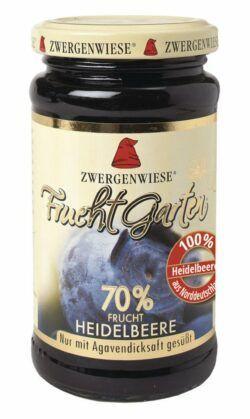 Zwergenwiese FruchtGarten Heidelbeere 6x225g
