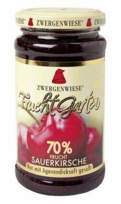 Zwergenwiese FruchtGarten Sauerkirsche 6x225g