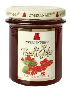 Zwergenwiese FruchtGelee Rote Johannisbeere 6x195g
