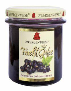 Zwergenwiese FruchtGelee Schwarze Johannisbeere 6x195g