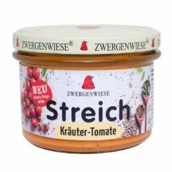 Zwergenwiese Kräuter Tomate Streich 180g