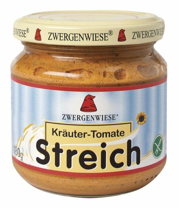 Zwergenwiese Kräuter-Tomate Streich 6x180g