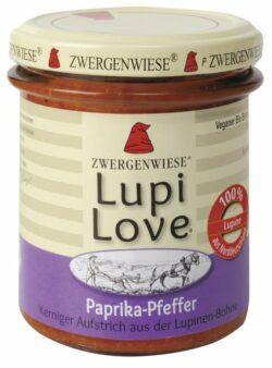 Zwergenwiese LupiLove Paprika-Pfeffer 6x165g