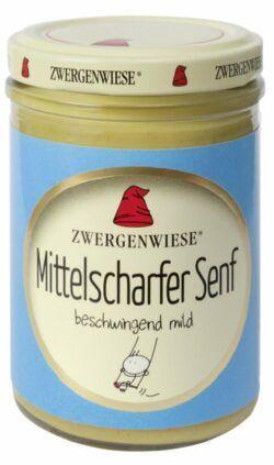 Zwergenwiese Mittelscharfer Senf 160ml
