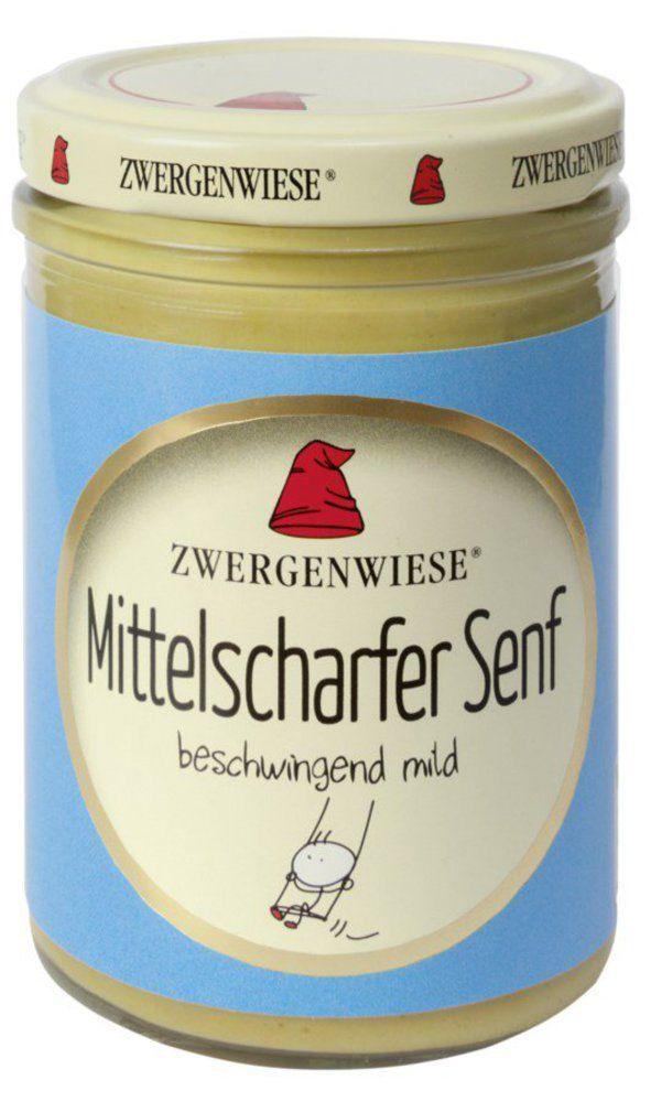 Zwergenwiese Mittelscharfer Senf 6x160ml