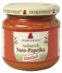 Zwergenwiese Nuss-Paprika Aufstrich 6x200g