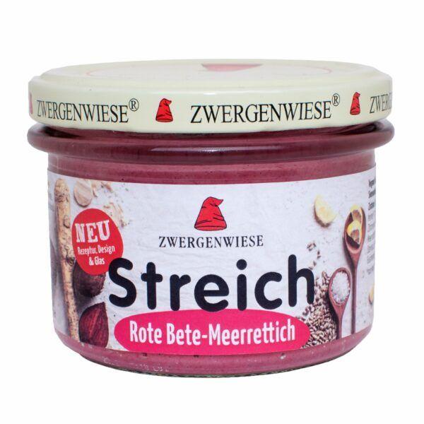 Zwergenwiese Rote-Bete-Meerrettich Streich 6x180g