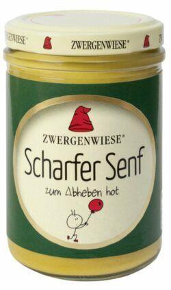 Zwergenwiese Scharfer Senf 6x160ml