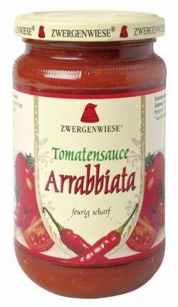 Zwergenwiese Tomatensauce Arrabbiata 6x340ml
